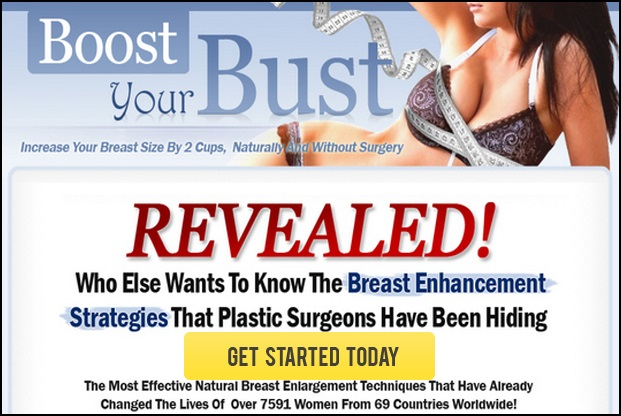 natural ways to increase breast size fast at home