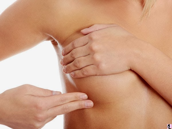 how to increase breast size by self massage at home